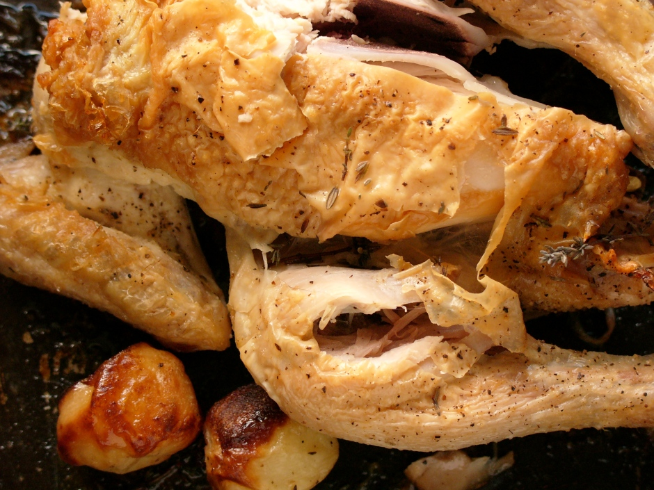 The little black dress of roasted chicken