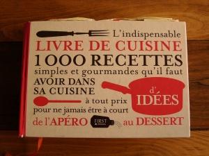 Indispensable Livre de Cuisine