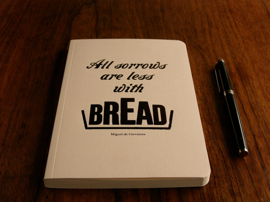 blank Bread notebook