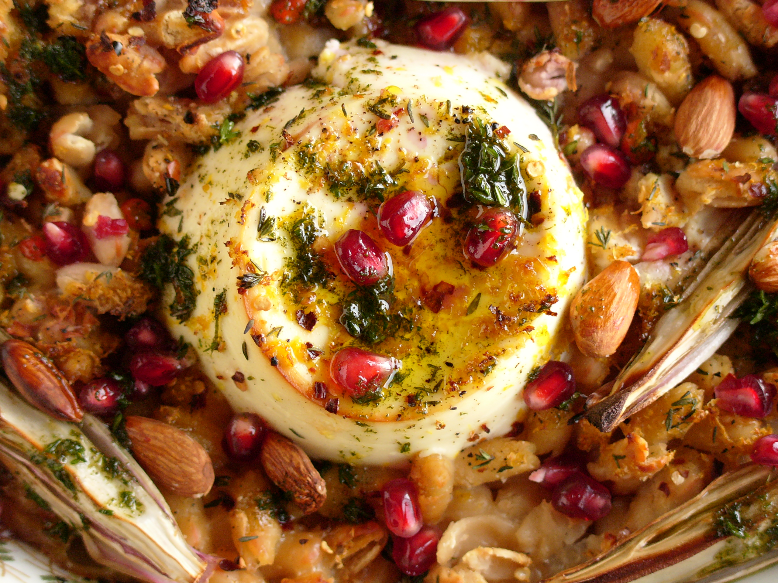 The Modern Cook: Anna Jones's baked ricotta with cannellini beans